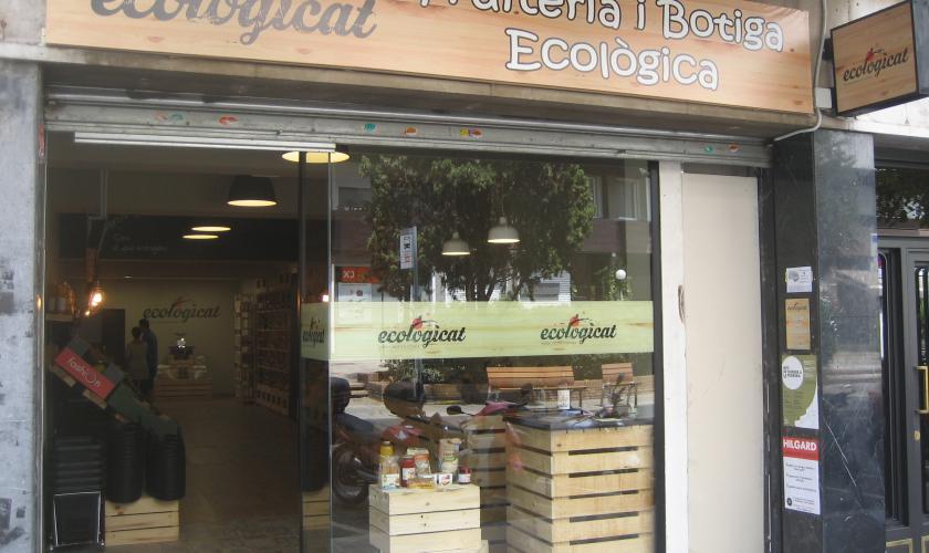 ECOLOGICAT. Fruiteria i botiga ecològica