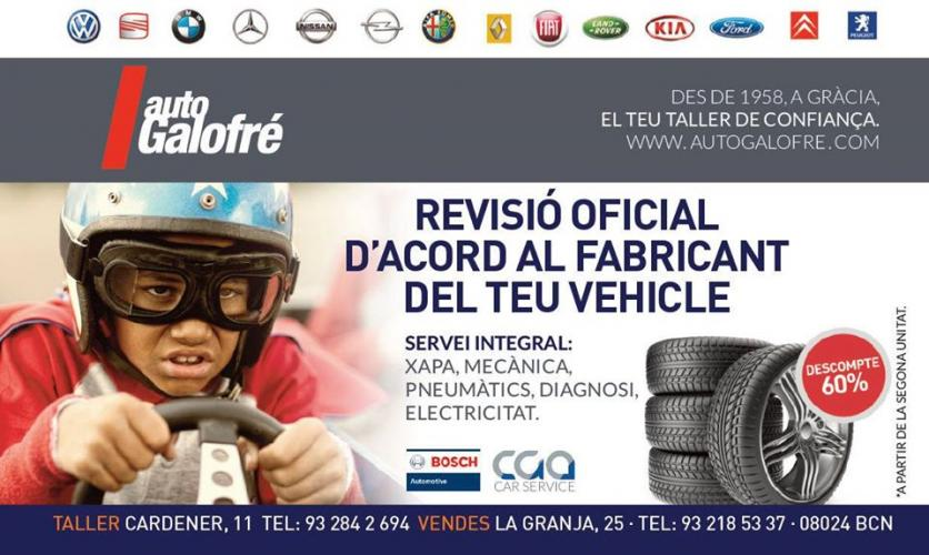 TALLERS GALOFRE Tallers multimarca